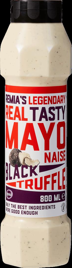 Productafbeelding Remia's Legendary Real Tasty Mayonaise Black Truffle   Tube 800 ML