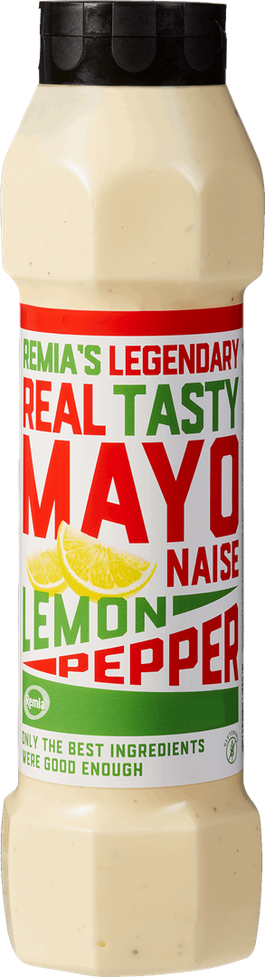 Productafbeelding Remia's Legendary Real Tasty Mayonaise Lemon Pepper | Tube 800 ML
