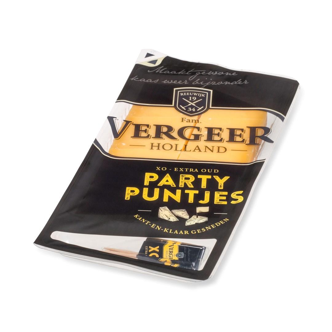 Productafbeelding Vergeer Partypuntjes Gouda XO 525g