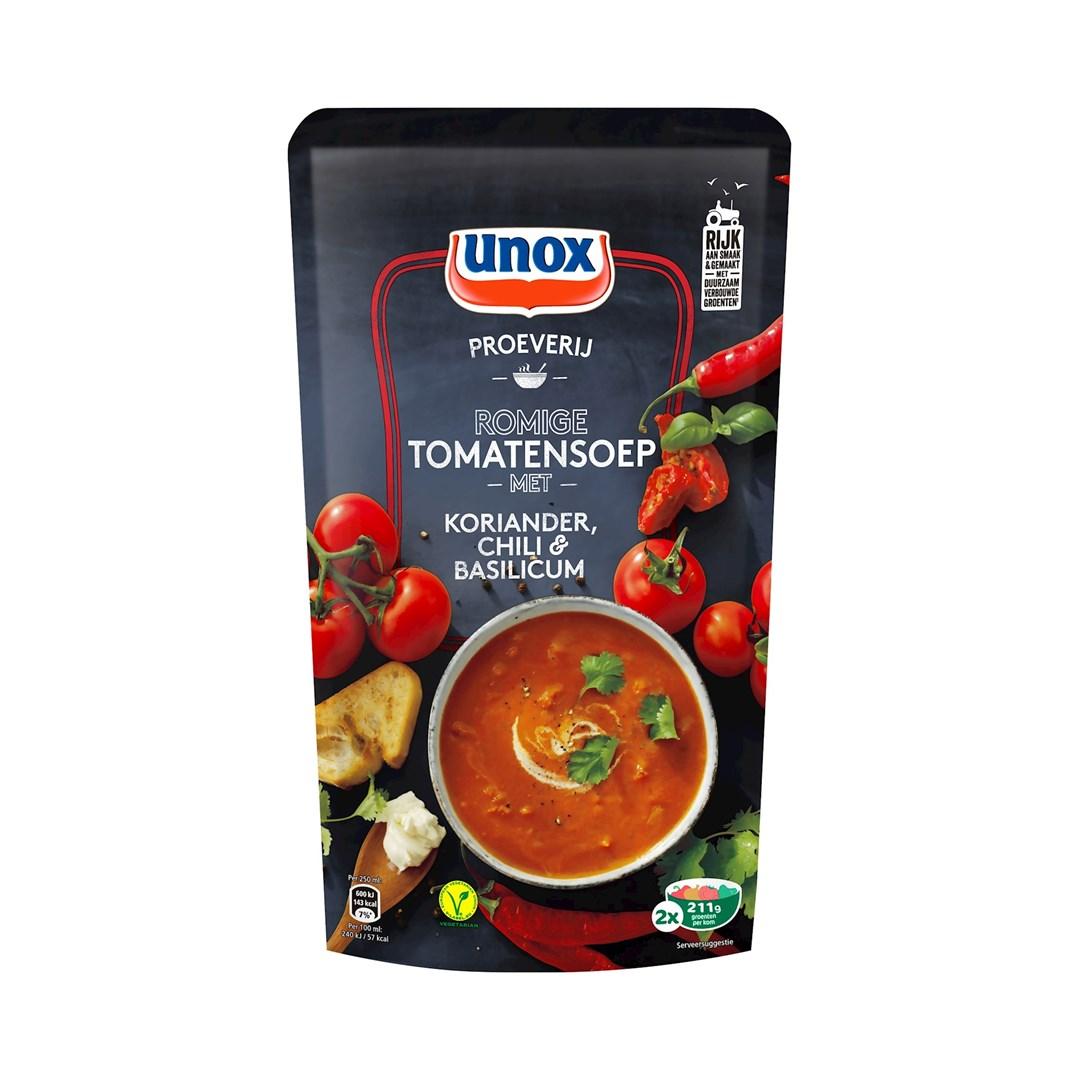 Productafbeelding Unox Premium soep Tomaat&kaas 570ml