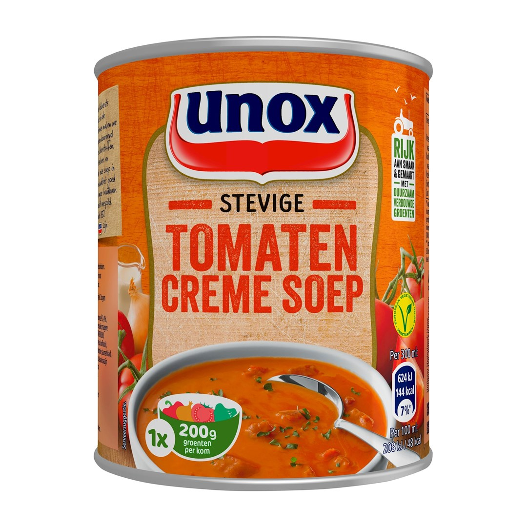 Productafbeelding UNOX Stevige Tomaat Creme 300ML 12X
