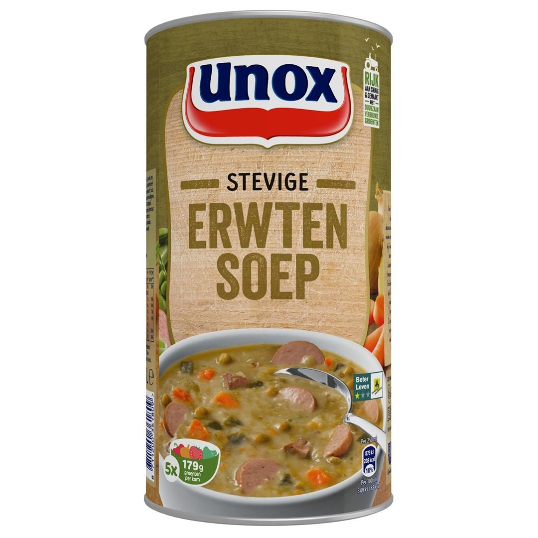 Productafbeelding UNOX SOEP Stevige Erwt 1.3l 6X