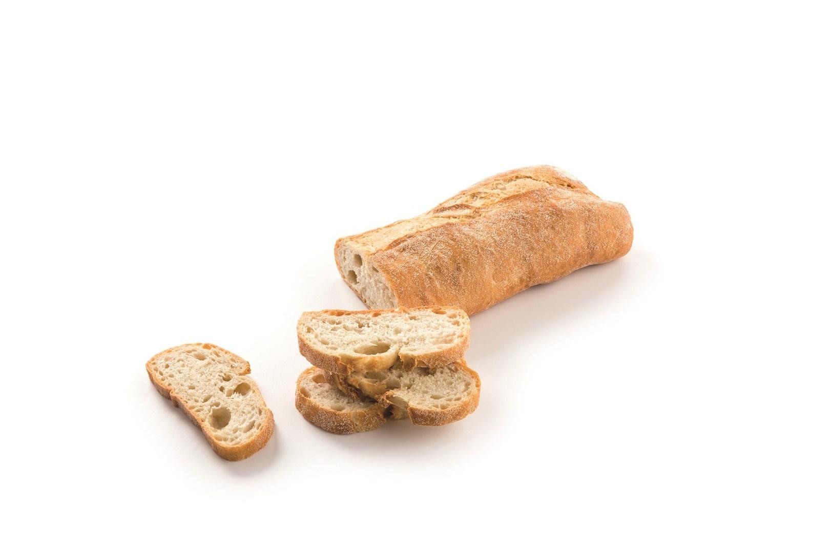 Productafbeelding Rustiek wit ciabatta brood