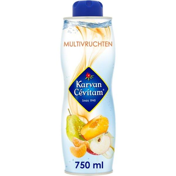 Productafbeelding Karvan Cévitam Vruchtenlimonadesiroop Multivruchten 750 ml Blik