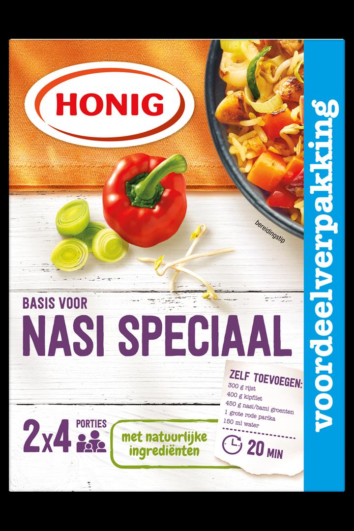 Productafbeelding Honig Mix Basis voor Nasi Speciaal 2 x 38 g Doos