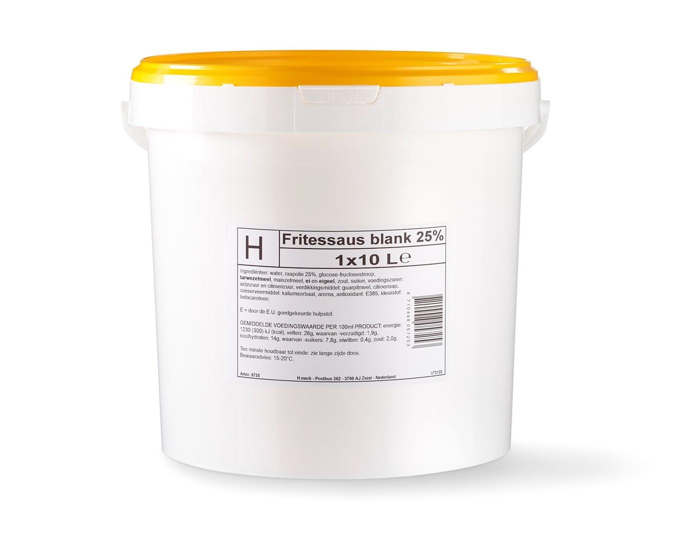 Productafbeelding H-merk Fritessaus Blank 25%