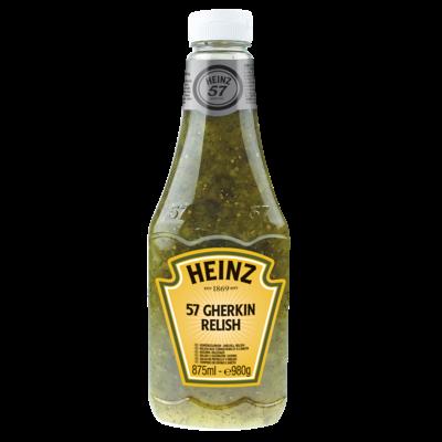 Productafbeelding Heinz Augurk-Dillesaus 57 Gherkin Relish 980 g Fles