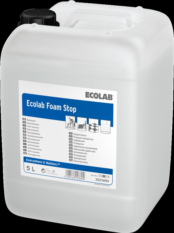 Productafbeelding ECOLAB FOAM STOP 5L