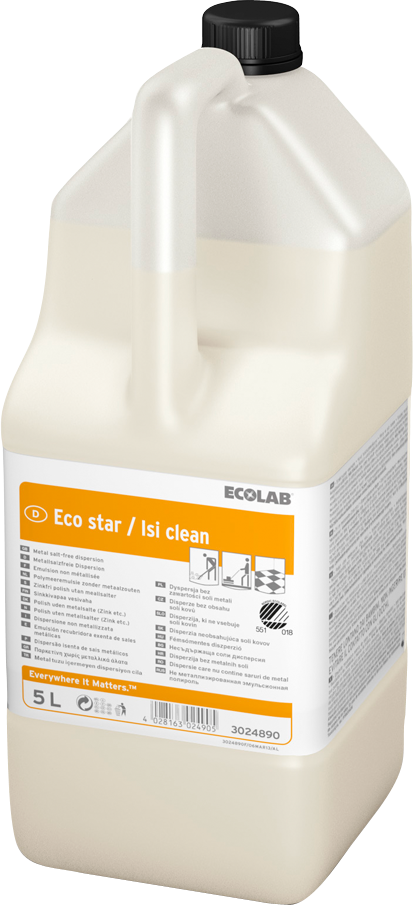 Productafbeelding ECO STAR / ISI CLEAN 2X5L