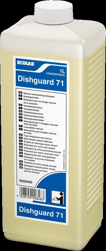 Productafbeelding DISHGUARD 71 4X1L