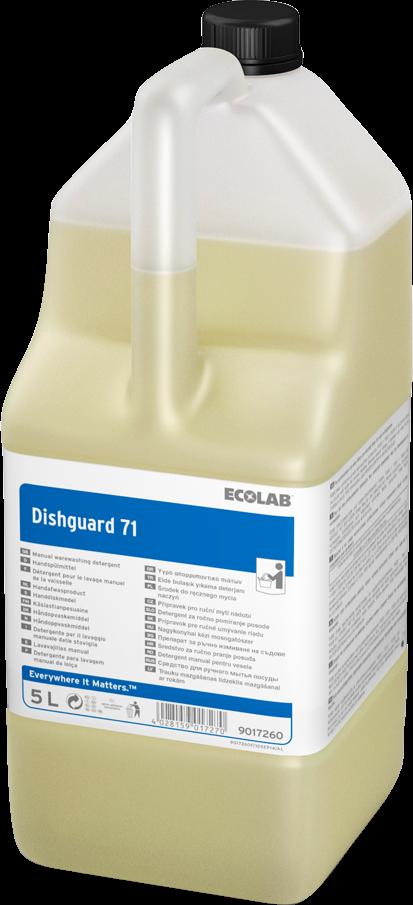 Productafbeelding DISHGUARD 71 2X5L