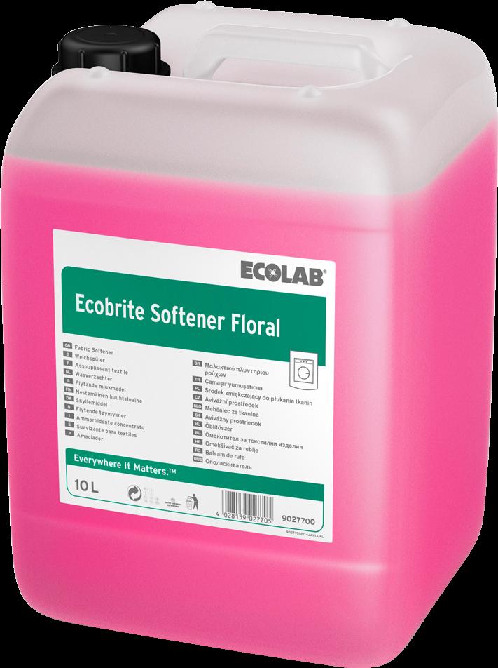 Productafbeelding ECOBRITE SOFTENER FLORAL 10KG