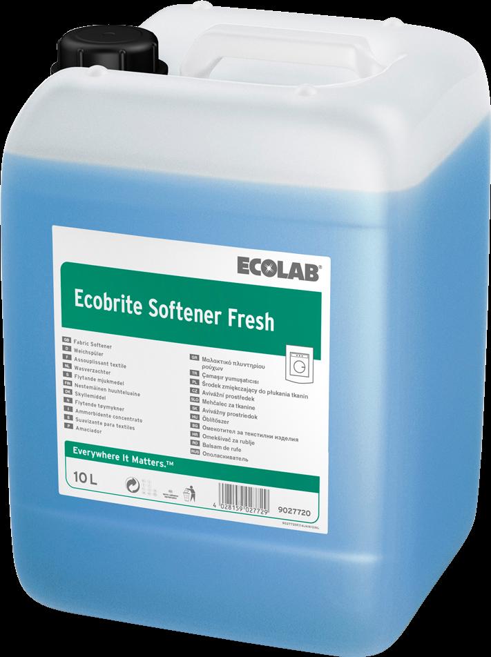 Productafbeelding ECOBRITE SOFTENER FRESH 10L
