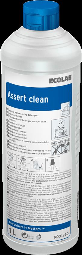 Productafbeelding ASSERT CLEAN 6X1L