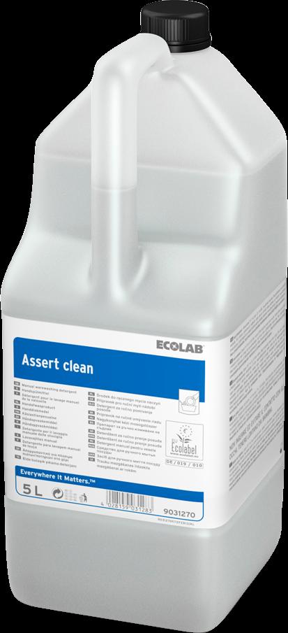 Productafbeelding ASSERT CLEAN 2X5L
