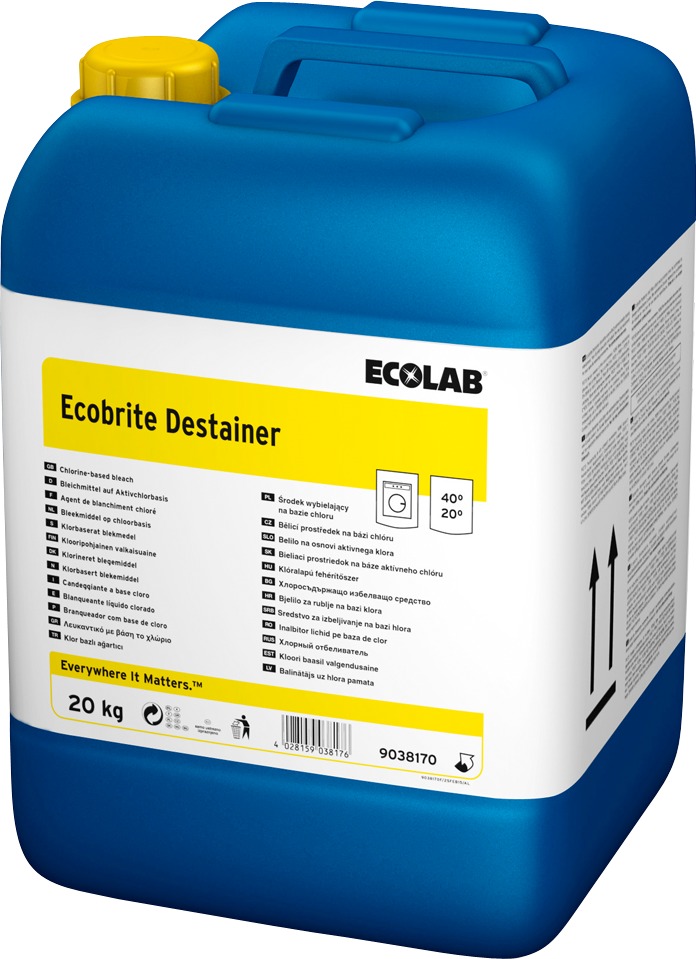 Productafbeelding ECOBRITE DESTAINER 20KG