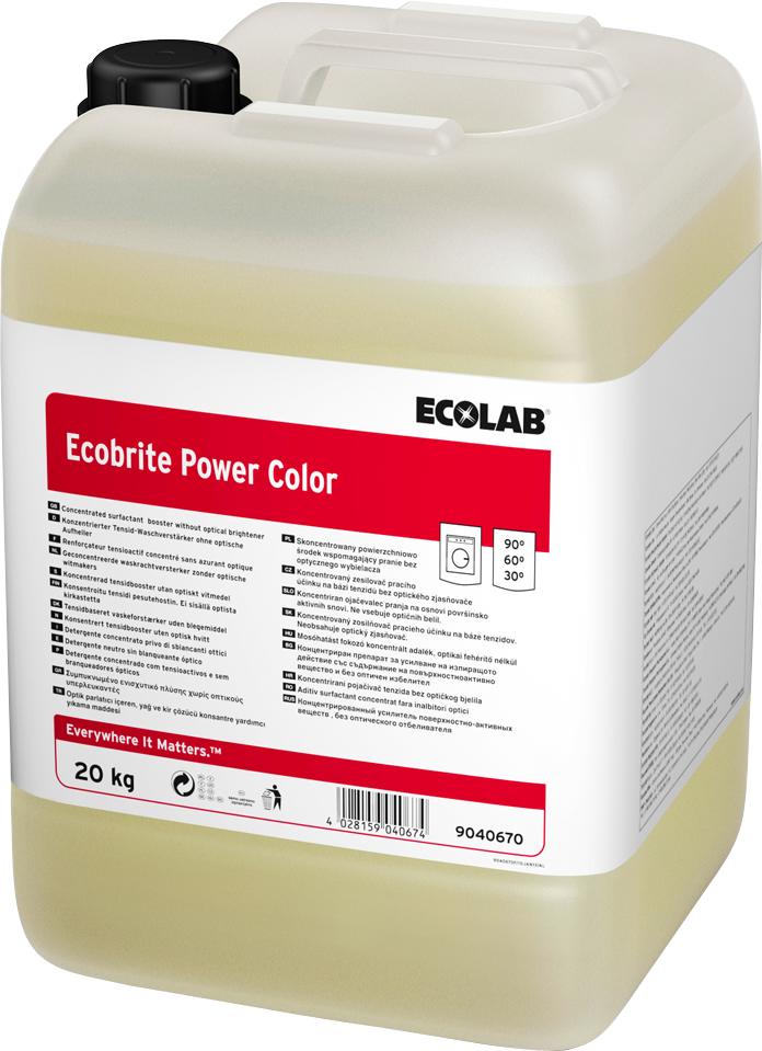 Productafbeelding ECOBRITE POWER COLOR 20KG