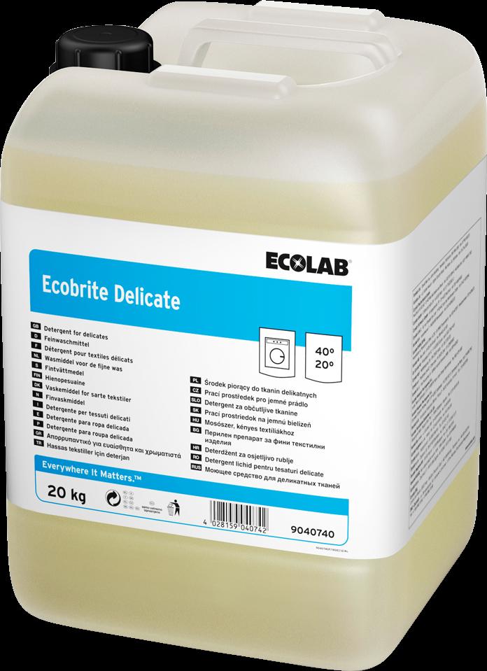Productafbeelding ECOBRITE DELICATE (907413) 20KG
