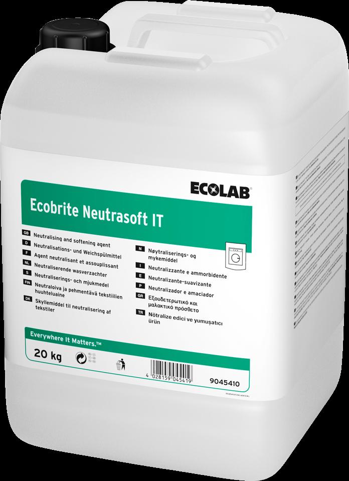 Productafbeelding ECOBRITE NEUTRASOFT IT 20KG