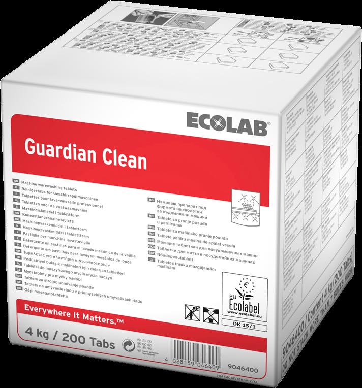 Productafbeelding GUARDIAN CLEAN, 4KG, 200TABS, AL