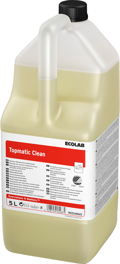 Productafbeelding TOPMATIC CLEAN 4X5L