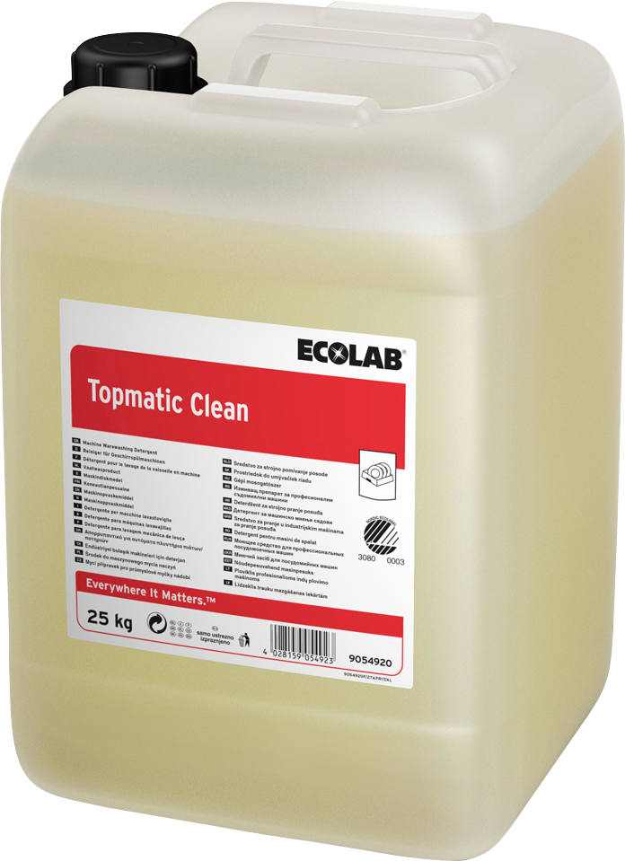 Productafbeelding TOPMATIC CLEAN 25KG