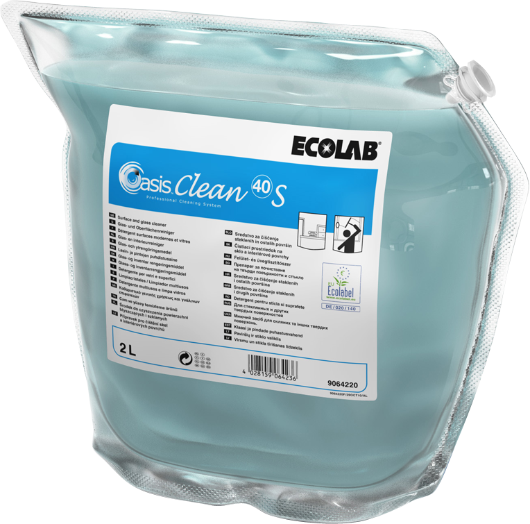 Productafbeelding OASIS CLEAN 40 S 2X2L