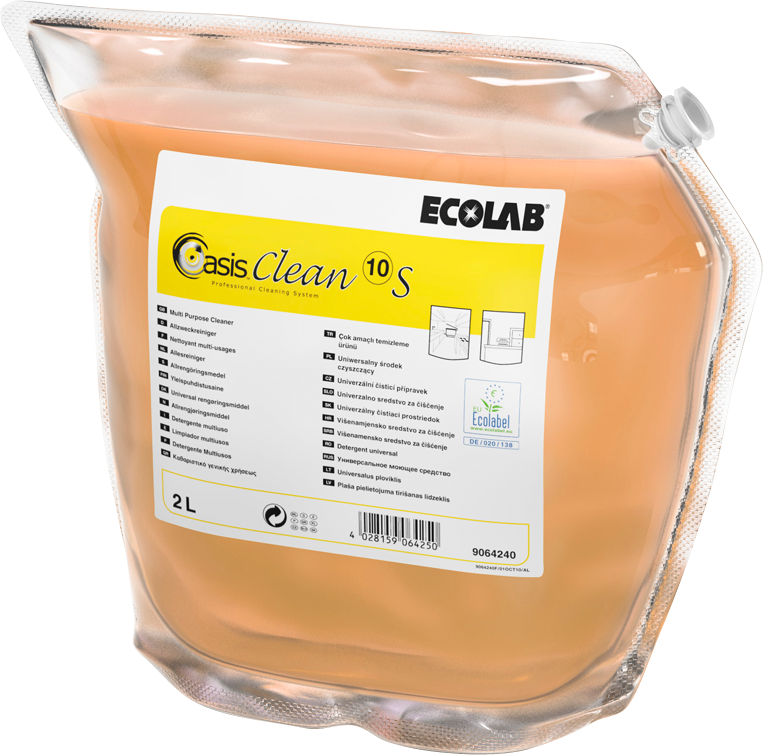 Productafbeelding OASIS CLEAN 10 S 2X2L