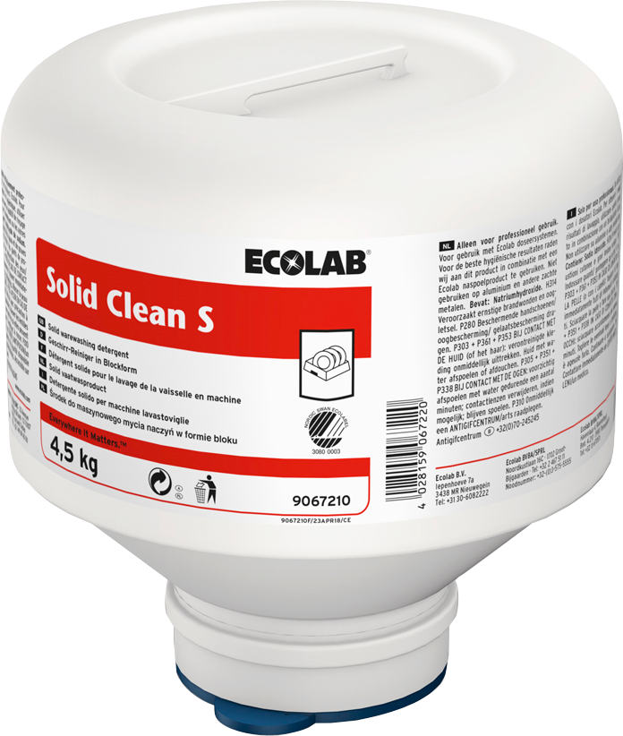 Productafbeelding SOLID CLEAN S 4X4.5 KG
