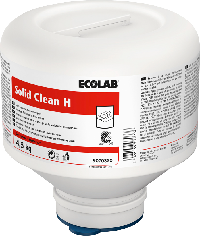 Productafbeelding SOLID CLEAN H 4X4.5KG