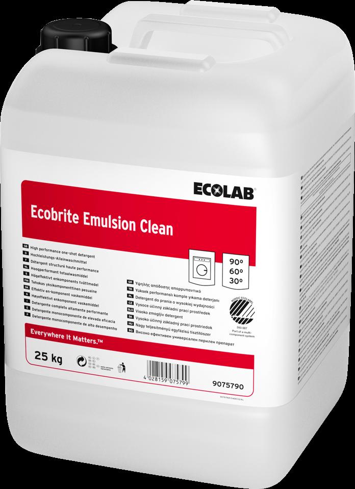 Productafbeelding ECOBRITE EMULSION CLEAN 25KG