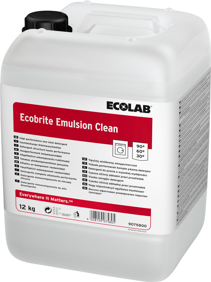 Productafbeelding ECOBRITE EMULSION CLEAN 12KG