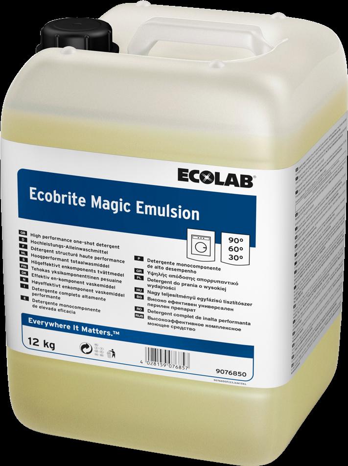 Productafbeelding ECOBRITE MAGIC EMULSION 12KG