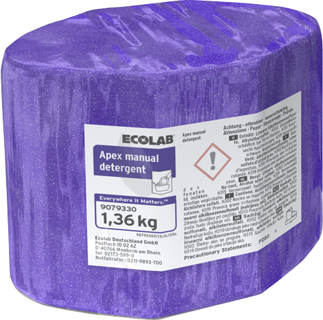 Productafbeelding APEX MANUAL DETERGENT 2 X 1,36 KG