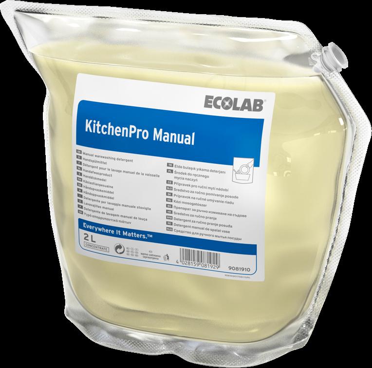 Productafbeelding KITCHENPRO MANUAL 2X2L
