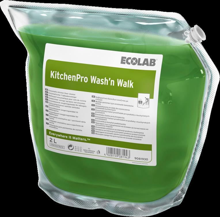 Productafbeelding KITCHENPRO WASH'N WALK 2X2L