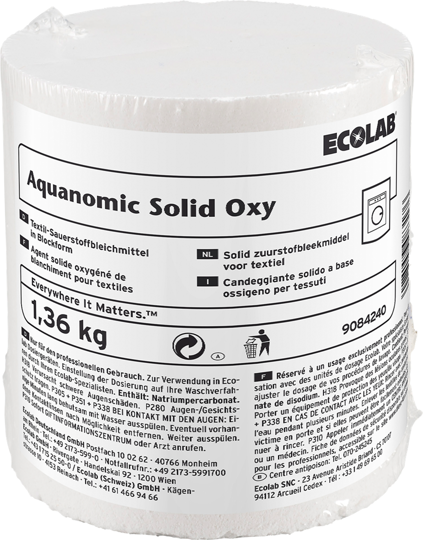 Productafbeelding AQUANOMIC SOLID OXY 2X1.36 KG