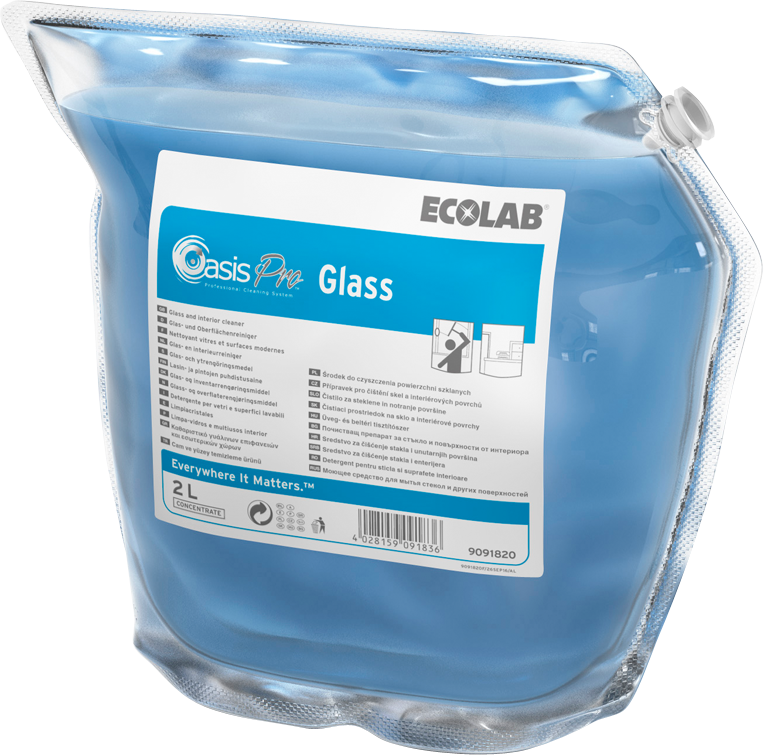 Productafbeelding OASIS PRO GLASS 2X2L