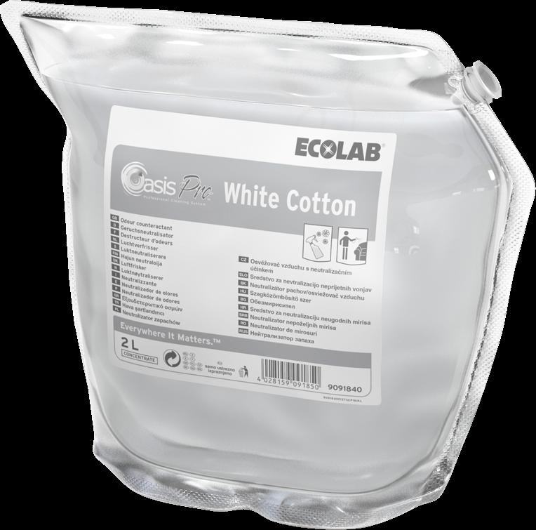 Productafbeelding OASIS PRO WHITE COTTON 2X2L