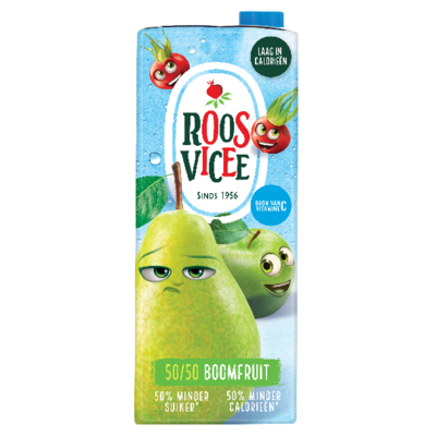Productafbeelding Roosvicee Fruitdrink 50/50 Boomfruit 1.5 l Pak