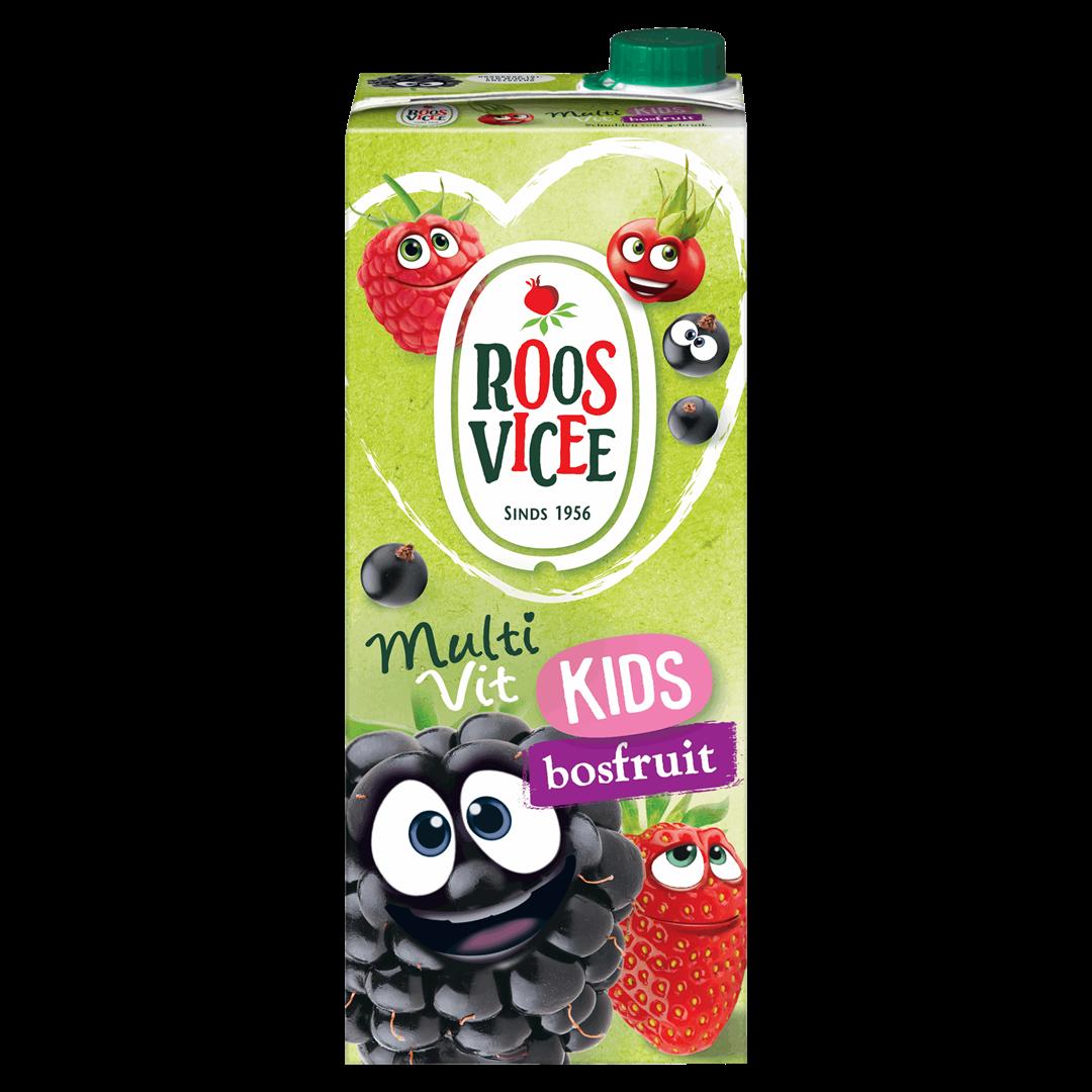 Productafbeelding Roosvicee Fruitdrink 50/50 Bosfruit 1.5 l Pak