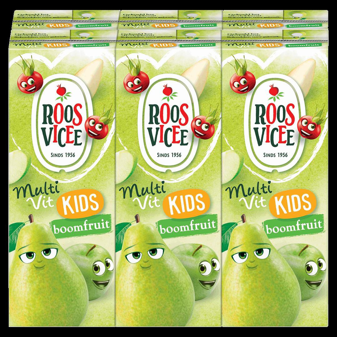 Productafbeelding Roosvicee Fruitdrink 50/50 Boomfruit 6 x 200 ml Pak