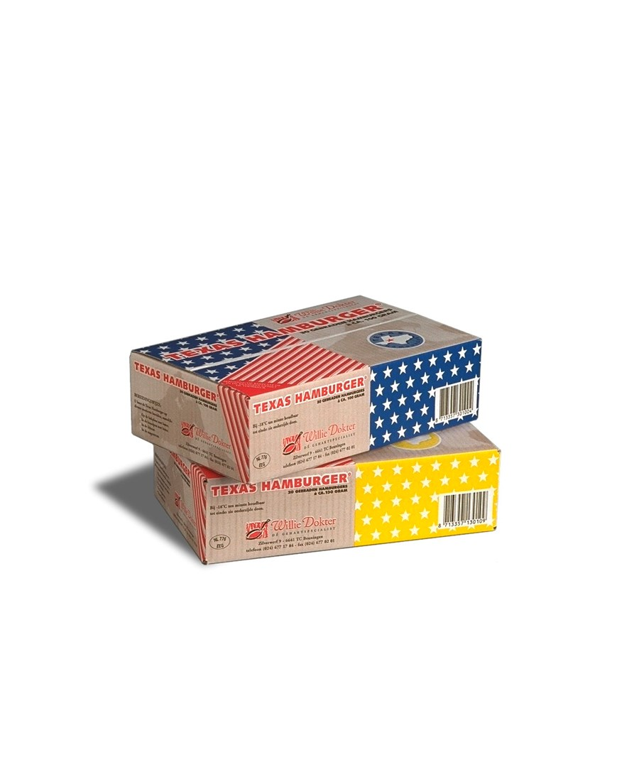 Productafbeelding 6010 Texas Hamburger® 2600g - Dit product is uit ons assortiment.