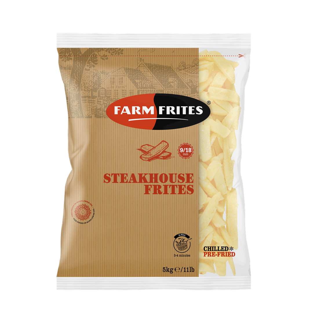 Productafbeelding Farm Frites Frites Steakhouse 9/18mm 5000 gram