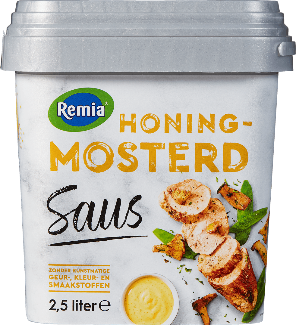 Productafbeelding Remia Honing Mosterd Saus | Emmer 2,5 L