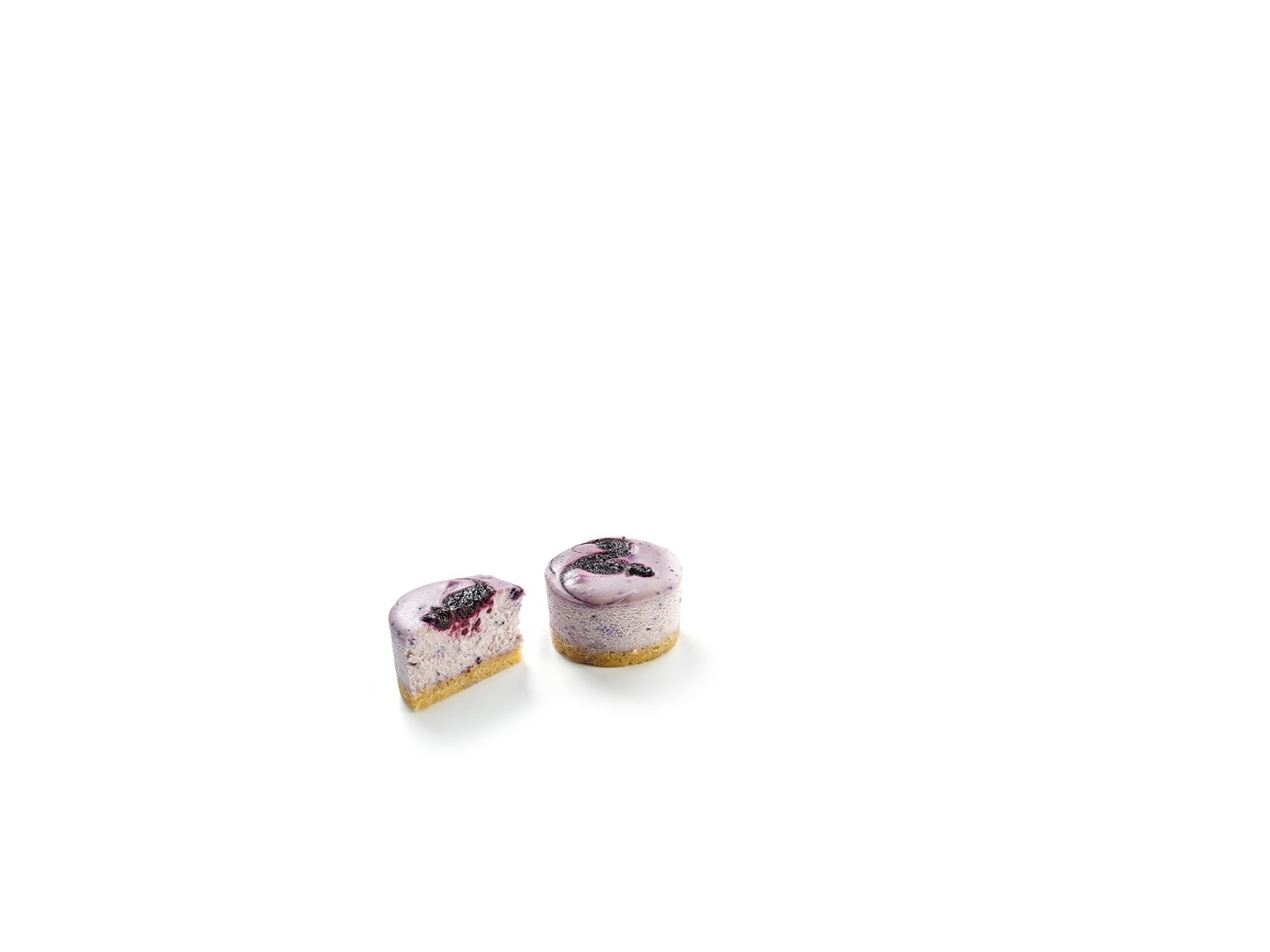 Productafbeelding MARBLED BLUEBERRY CHEESECAKE