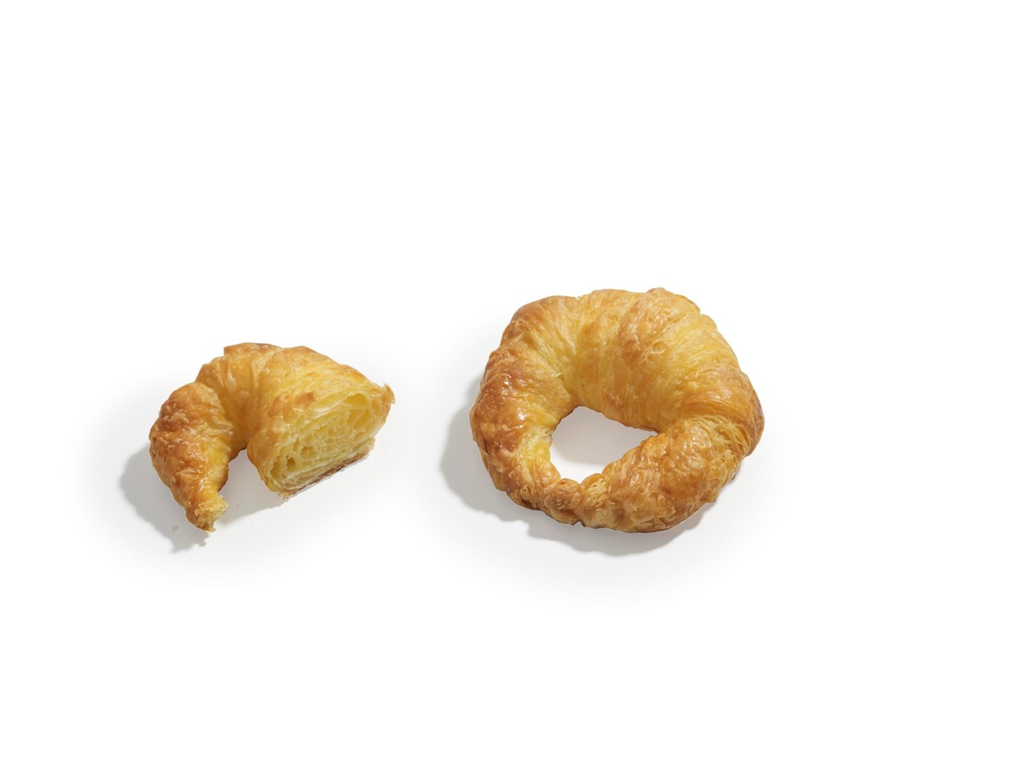 Productafbeelding Mini Curved Butter Croissant