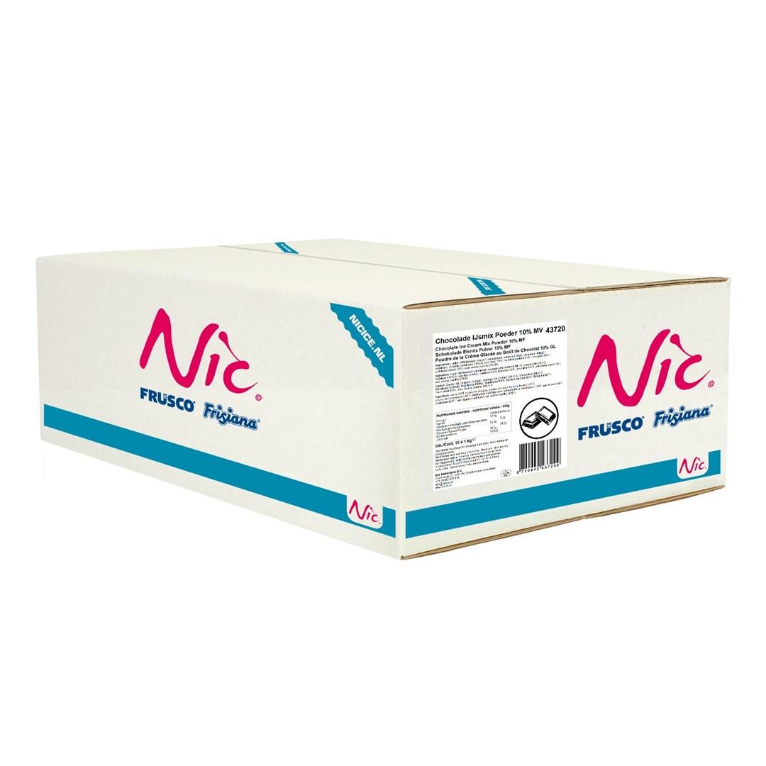 Productafbeelding Nic Chocolade IJsmix Poeder 10% MV