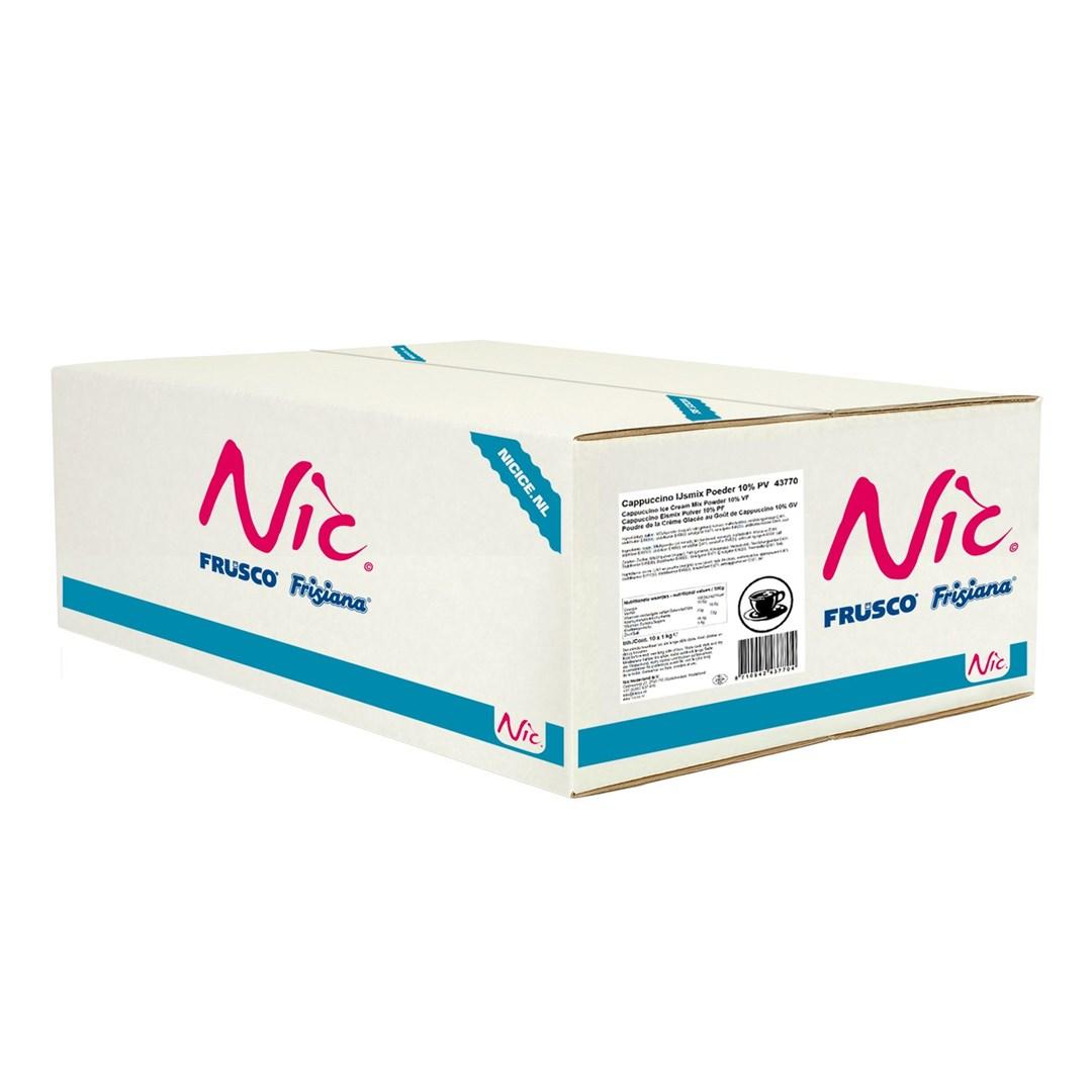 Productafbeelding Nic Cappuccino IJsmix Poeder 10% PV