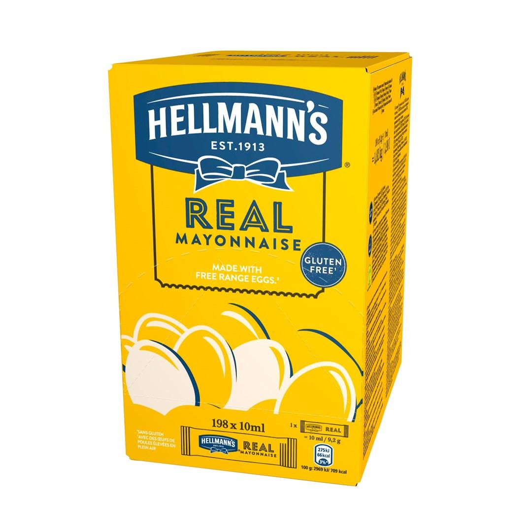 Productafbeelding Hellmann's Mayonaise 198x10ml 1x
